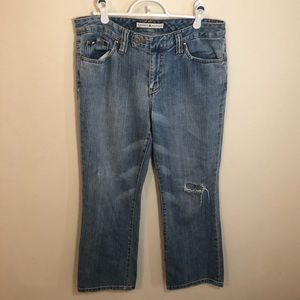 Tommy Hilfiger distressed relaxed fit jeans